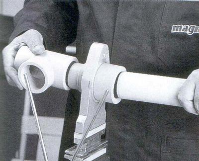 Andeco s n c info tecniche saldatura materiale plastivo for Tipi di tubi di plastica